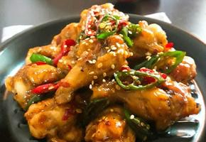 닭 봉 (윙) 조림 인기메뉴