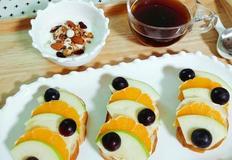 과일오픈샌드위치(제철과일, 남은과일로 활용해보세요)