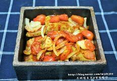두부조림 방울 토마토 두부조림 처음맛본 두부조림