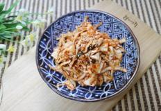 10분만에 만드는 아삭한 양배추겉절이,양배추김치/비빔만두는 서비스~!