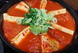 간단 저녁 반찬-캔꽁치 김치말이찌개~