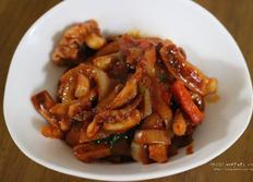 백종원 오징어볶음 맛있게 만들어먹어요~!!