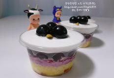 포도 컵케이크 만들기(제철 과일로 달달한 노오븐 베이킹&디저트)