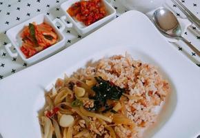 양파덮밥 만들기