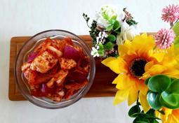 여름에 담궈먹어야 제맛 아삭한 양배추양파김치