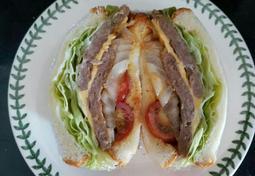 식빵을 이용한 너비아니 수제버거 샌드위치