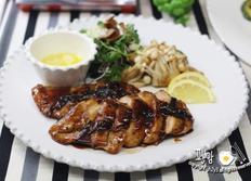 갈릭 닭가슴살 스테이크 만들기! 하림 자연실록 수비드 닭가슴살 요리~
