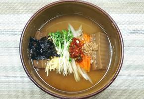 꿀처 도토리묵밥