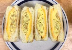 계란말이 샌드위치 만들기 !