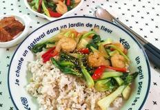 청경채덮밥(밑반찬으로도 좋아요)