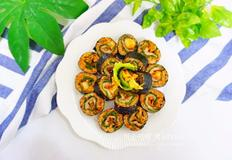 쌈장 삼겹살 김밥 만들기, 색다른 김밥요리