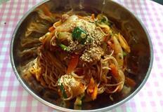 간단한 국수요리 백종원 김치 야채 비빔국수