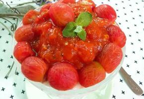 토마토빙수 만들기[홈메이드 간식]