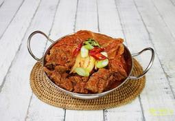 김치요리 , 돼지등뼈 김치찜