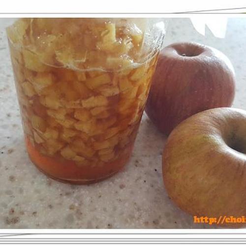 맛없는 사과의 대 변신!!! 사과조림 (사과졸임) 만들기 레시피 feat 시나몬