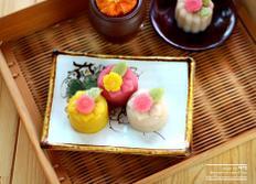 삼색 양갱만들기 :: 추석 베이킹