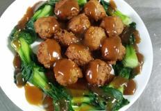 중국식 고기완자 사자두 만들기
