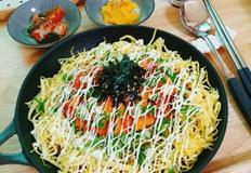 치킨마요덮밥(남은치킨요리, 덮밥소스도만들어요)