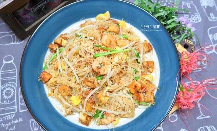 집밥 백선생3 태국식 볶음쌀국수, 팟타이