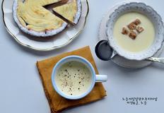 콘옥수수활용방법 옥수수 수프만들기 가볍게 마시는 수프