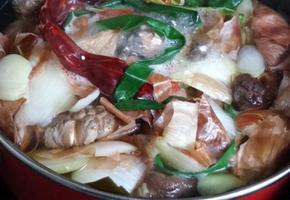 채식요리의 기본 채수 만들기