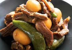 소고기 메추리알 장조림 고기요리