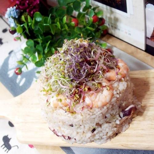 #집에서 만드는 초밥케이크만들기 #새우와 문어를 넣고 만든 초밥케이크