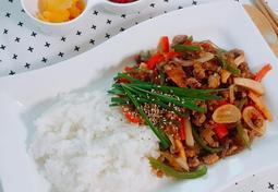 순식간에 휘리릭~ 잡채밥 만들기