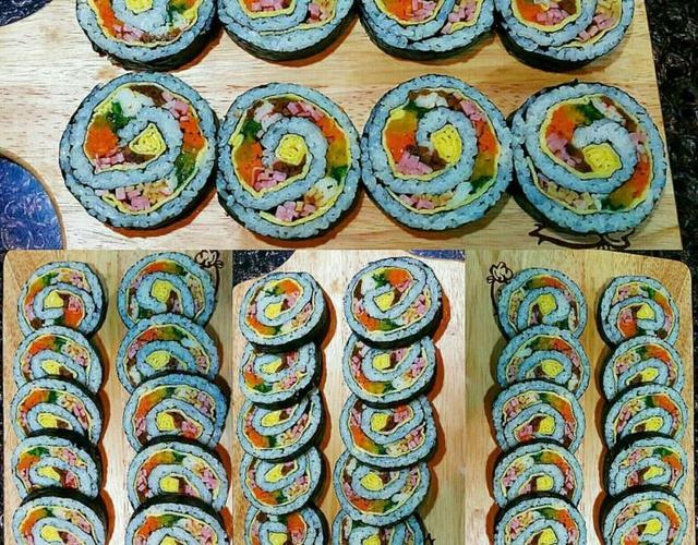회오리김밥