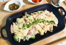 크림만두(냉동만두, 남은만두 요리)