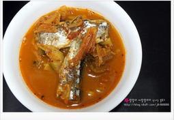꽁치 김치찌개 - 간단 찌개 요리
