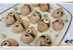 소풍도시락 레시피 3탄 - 미니언즈 유부초밥 만들기