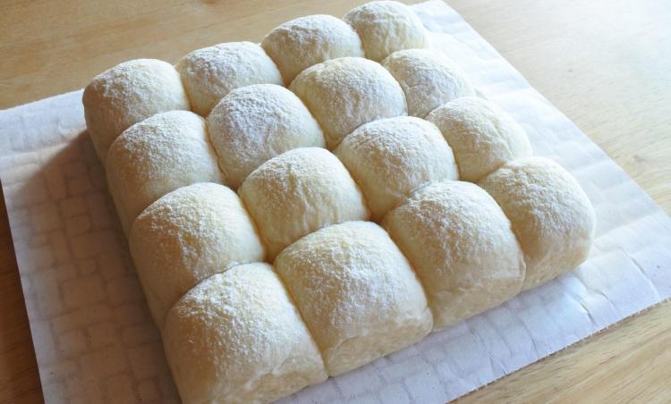새하얀 요거트 뜯어먹는 빵 만들기