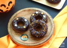 할로윈 초코 도넛 만들기 :: 할로윈 베이킹