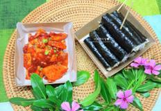 백종원 충무김밥, 오징어초무침 맛있게