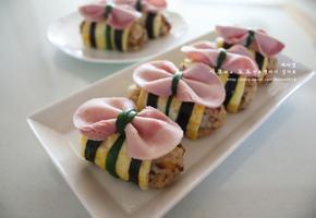 리본주먹밥 - 소풍도시락 주먹밥