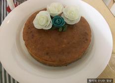 특별한 날을 위한 고구마치즈케이크 만들기