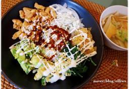닭고기 마요 덮밥....냉파 메뉴로 좋은 한그릇 요리