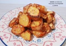 고구마 맛탕 : 에어프라이어, 간단한 간식