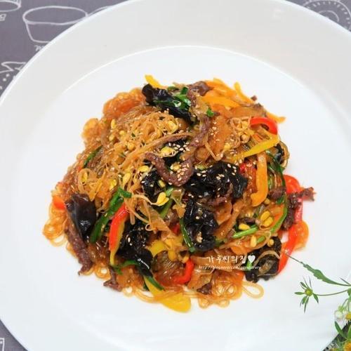 김치잡채 손쉽게 만들기, 맛있는 명절요리