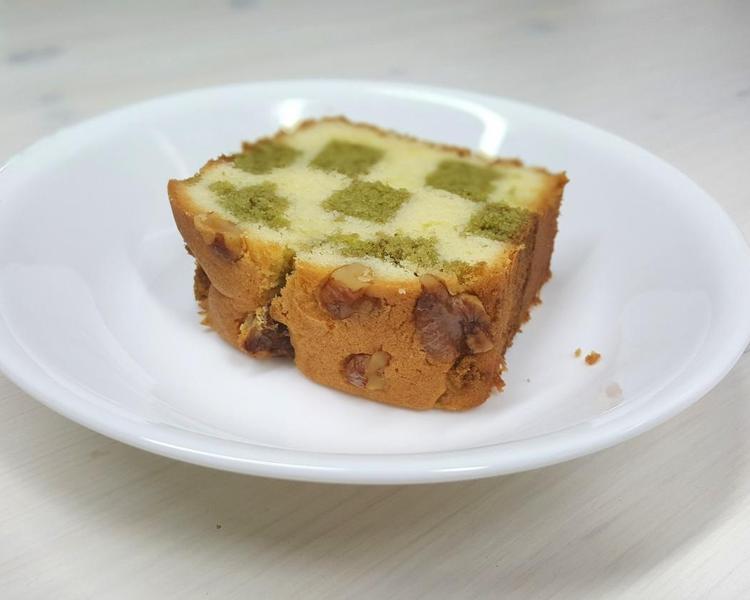 녹차파운드케이크