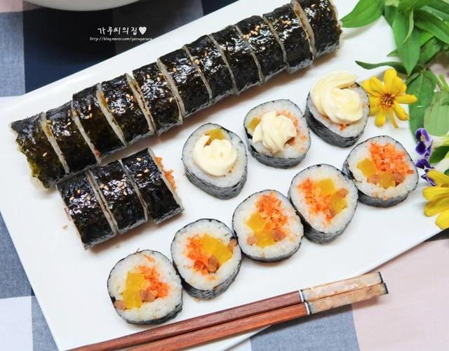 건새우김밥
