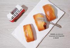 미니 팥 파운드 케이크: 초간단 베이킹(핫케이크가루)