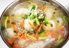 #간단 감자옹심이만들기 #시원하고 쫄깃한 옹심이의 맛!!