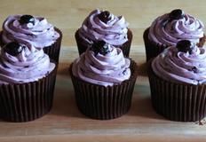 블루베리 크림치즈 컵케이크 만들기
