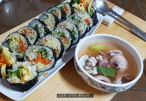 김밥, 단무지가 없다면 '이것' 한 번 넣어 봐!