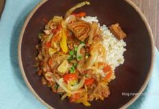 양파덮밥:고추참치캔으로 더 쉽고 빠르게(혼밥의 정석)