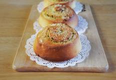 갈릭 파마산 치즈빵 만들기