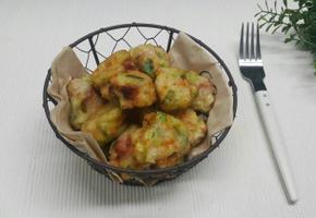 시판 폭찹스테이크 야채튀김~*