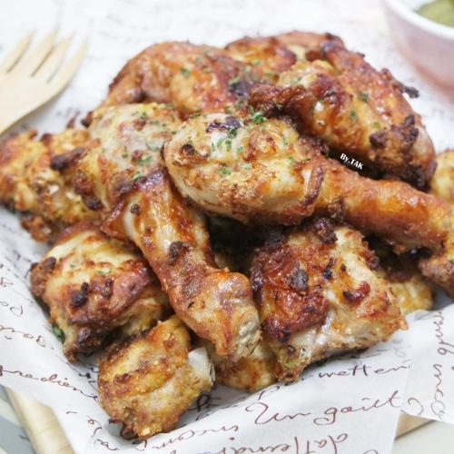 에어프라이어로 기름한방울 없이 바삭한 치킨만들기